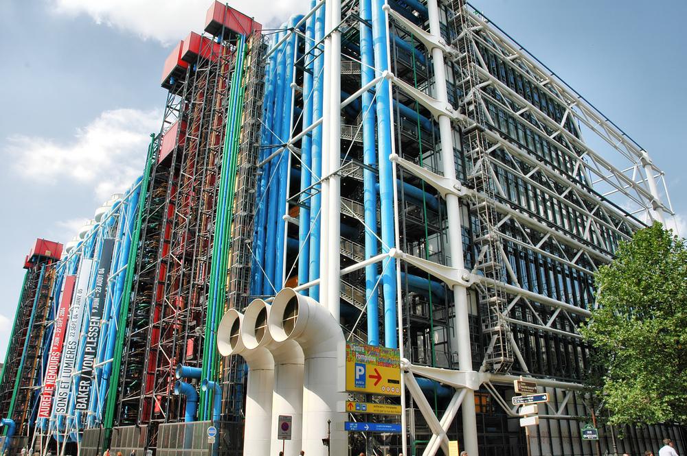 1000 images about creativity on pinterest street art - Centre george pompidou architecture ...