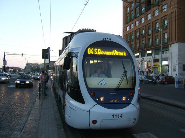 Naples tramvaj