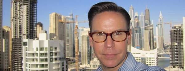Shawn in Dubai