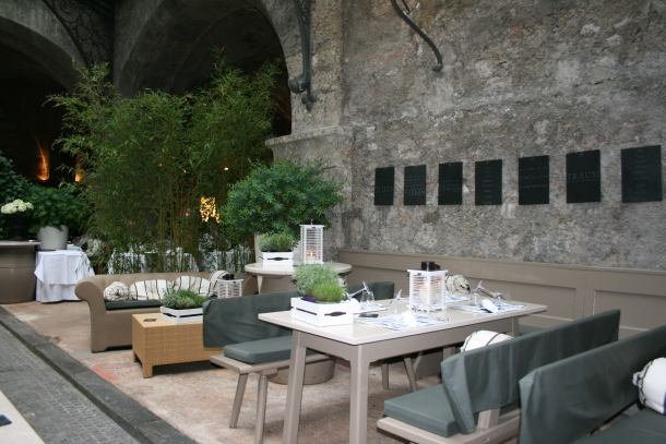 Vrt restorana