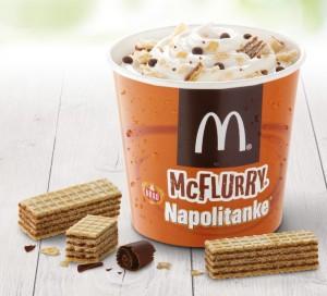 McFlurry Napolitanke