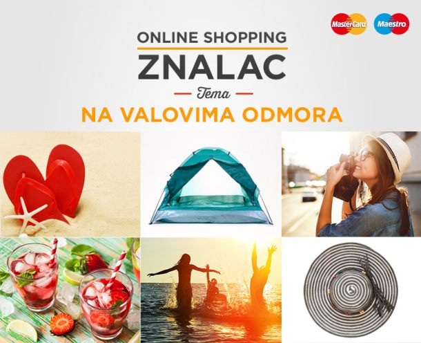 Online shopping mastercard