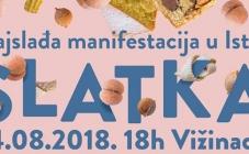 Okusite slatku Istru u Vižinadi na najslađoj manifestacija ovog ljeta