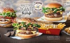 Novi burger u McDonald'su u suradnji sa Ziganteom