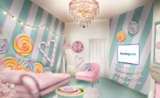 Najslađi smještaj do sada: Candy Cane House