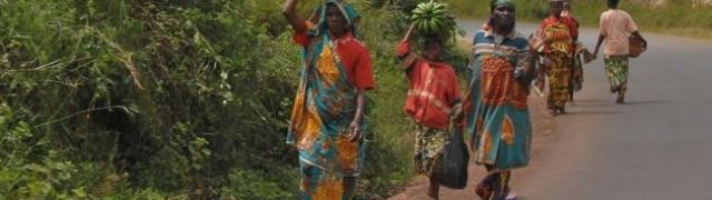 Burundi dragulj Afrike