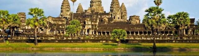 Kambodža zemlja mističnih hramova