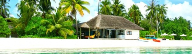 Maldivi ovozemaljski raj za odmor