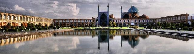 Isfahan grad Irana prepun zlatnih legendi