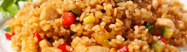 Kus – kus s agrumima i povrćem