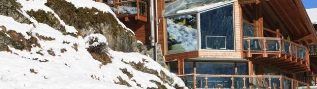 Spektakularne zimske planinske kolibe