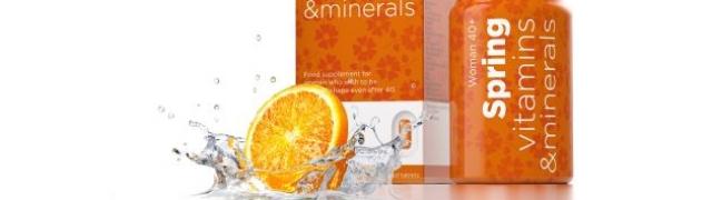 Spring vitamins & minerals