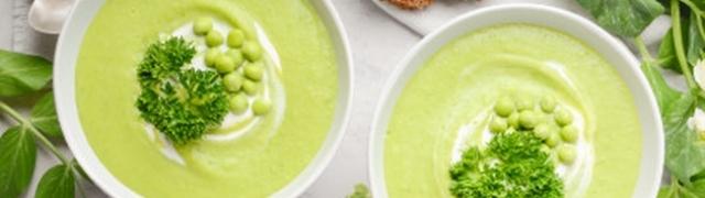 Zelena juha od graška i mente kao stvorena za proljeće