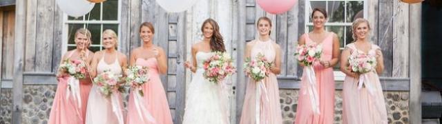 Kako odabrati prave haljine za djeveruše?