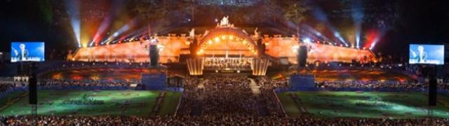 Besplatni koncert Bečkih filharmoničara u vrtu dvorca Schönbrunn