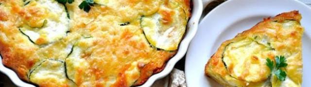 Fresh Herb Zucchini Pie