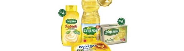 Zvijezda suncokretovo ulje i dalje najsnažniji brand u Hrvatskoj