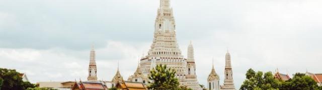 Najljepši hram Tajlanda Hram svitanja