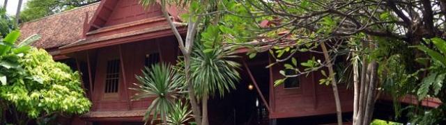 Znamenitost Tajlanda – kuća Jima Thompsona čovjeka koji je oživio umijeće tajskog tkanja svile