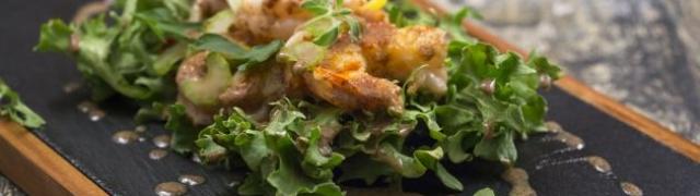 Salata od gambera s muštardom kako je priprema chef Skoko