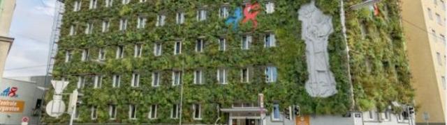 Beč se zelenim fasadama bori protiv klimatskih promjena