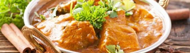 Indijski riblji curry prava je poslastica