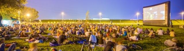 Filmski piknik festival na Ribnjaku