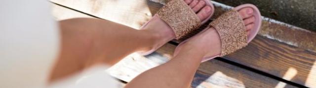 Sandale u predivnim ljetnim bojama