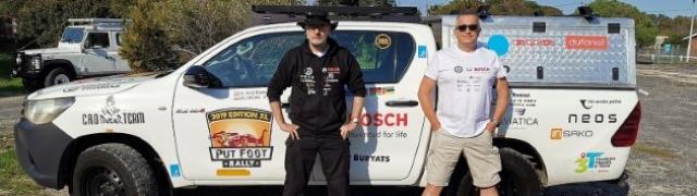 Tim Fat Buryats odradio Namibijsku trasu