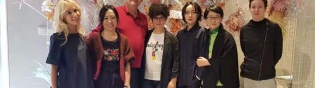 Izložba blagdanskih čestitki u Šangaju