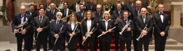 Božićni koncert Puhačkog orkestra HKUD-a Željezničar