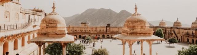 Jaipur ružičasti grad Indije