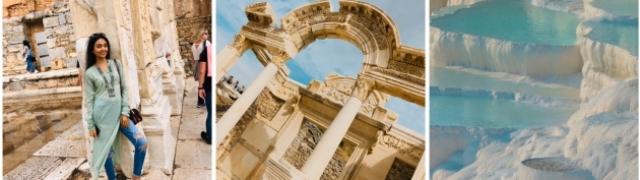 Pamukkale i znamenitosti antičkih gradova Turske