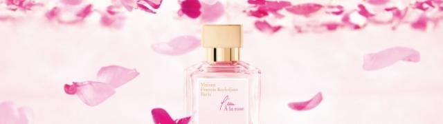 Proljetni miris ženstvenog parfema L'eau A la Rose