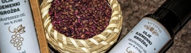Ulje sjemenki grožđa doza zdravlja i snage na vašoj trpezi