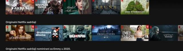 Netflix sadržaj dostupan i na hrvatskom jeziku