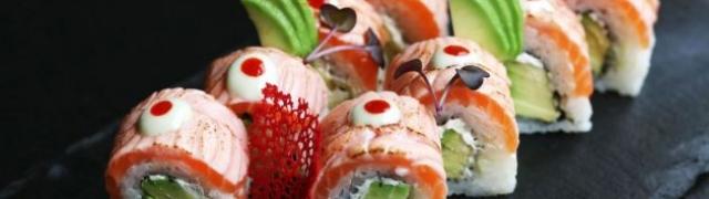 Recept za sushi zimsku Himura losos rolicu za vaše kulinarske užitke