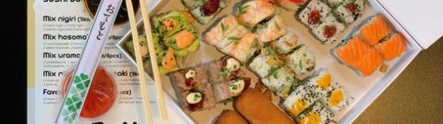 Naručite dva nova sushi box-a iz SoHo japanske gastro oaze