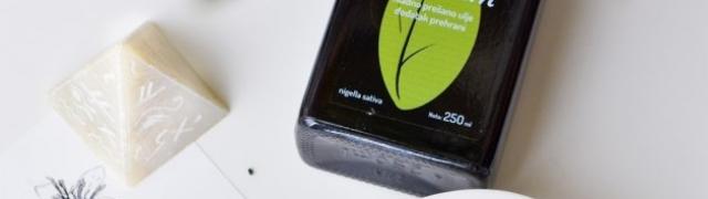 Hladno prešano ulje crnog kima