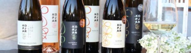 Vinarija KOPJAR osvojila je dva zlatna odličja za sauvignone