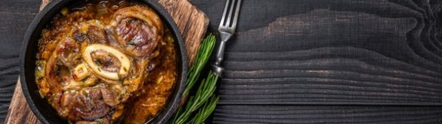 Ossobuco na milanski – teleća koljenica iz talijanske kuhinje