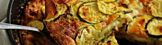 Priprema Sandra Rončević: Frittata s tikvicama i dimljenim sirom