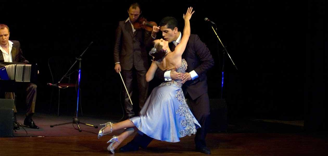 argentina tango ples