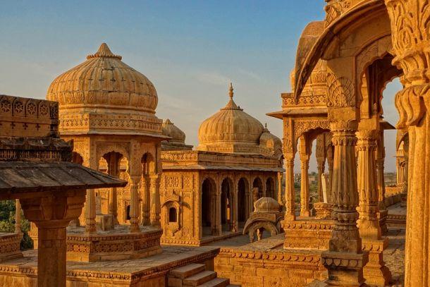 indija hram palače