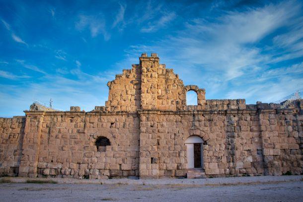 jerash jordan rimske znamenitosti