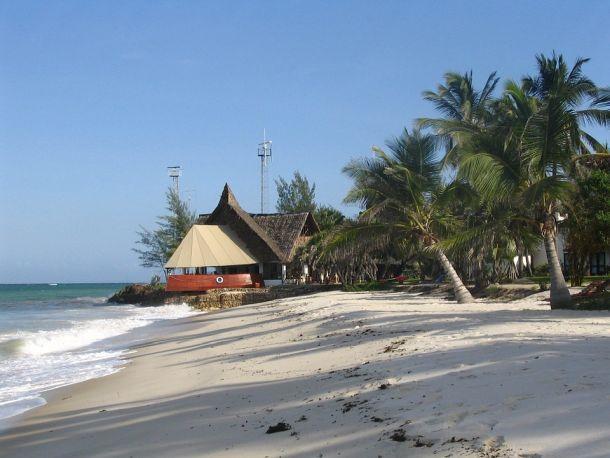 kenija plaža