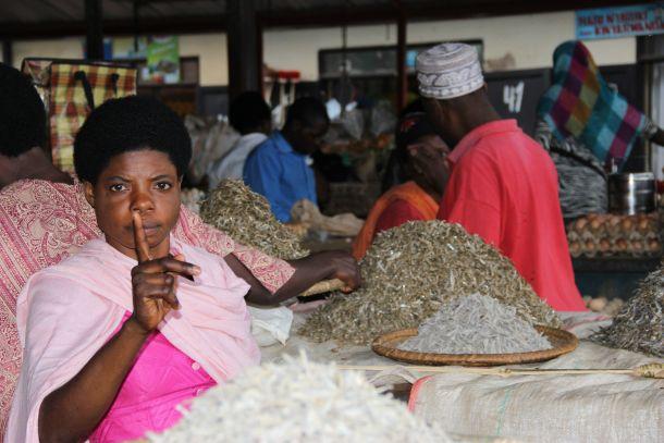 Ruanda Kigali tržnica