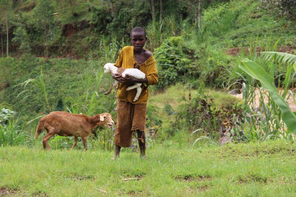 Ruanda dječak