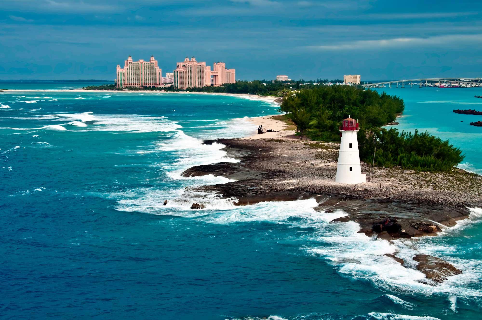 svjetionik na obali