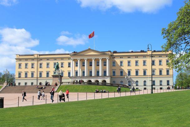 oslo kraljevska palača